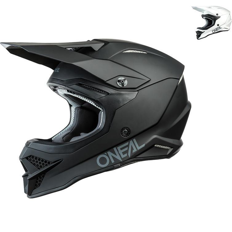 Oneal 3 Series Solid Motocross Helmet