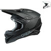 Oneal 3 Series Solid Motocross Helmet Thumbnail 2