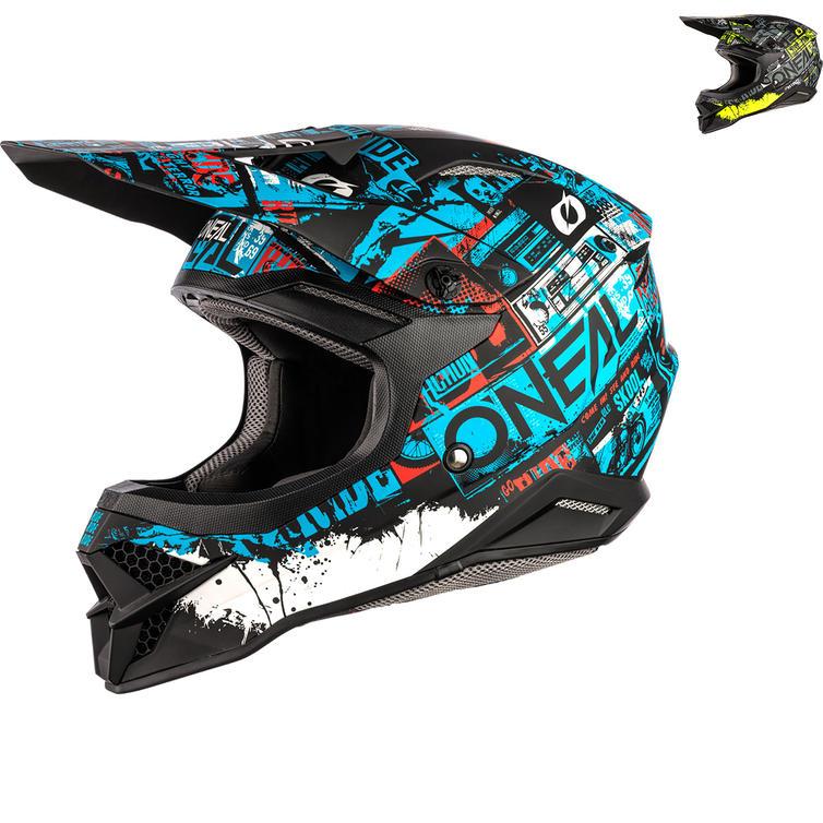 Oneal 3 Series Ride Motocross Helmet