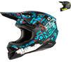 Oneal 3 Series Ride Motocross Helmet Thumbnail 1
