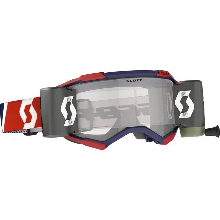Scott Fury WFS Motocross Goggles