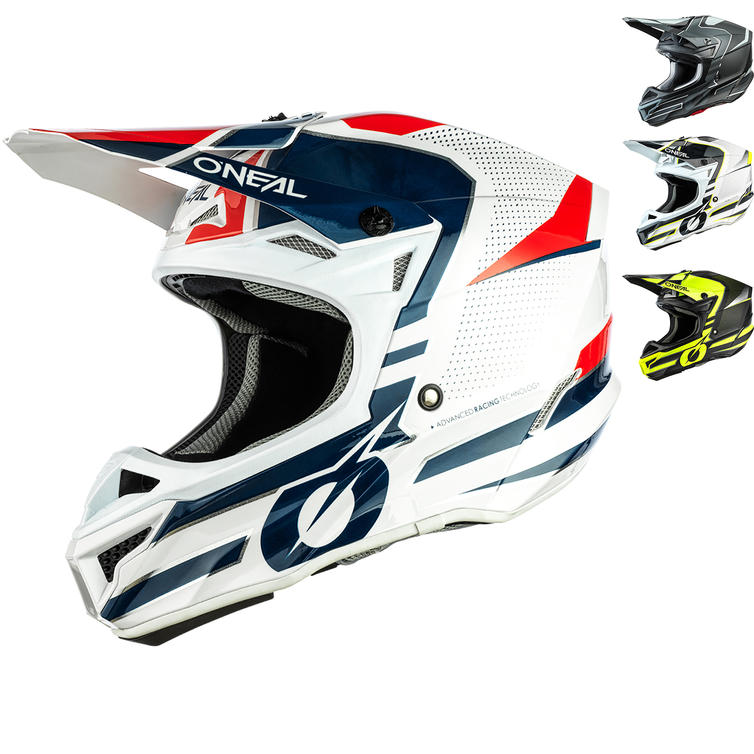 Oneal 5 Series Polyacrylite Sleek Motocross Helmet
