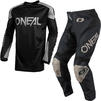Oneal Matrix 2021 Ridewear Motocross Jersey & Pants Black Grey Kit Thumbnail 1