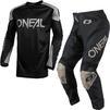 Oneal Matrix 2021 Ridewear Motocross Jersey & Pants Black Grey Kit Thumbnail 3