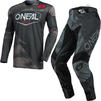 Oneal Mayhem 2021 Covert Motocross Jersey & Pants Anthracite Grey Kit Thumbnail 2