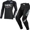 Oneal Mayhem 2021 Hexx Motocross Jersey & Pants Black Kit Thumbnail 1