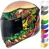 Icon Airframe Pro FastFood Motorcycle Helmet & Visor Thumbnail 2