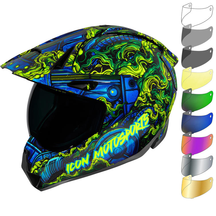 Icon Variant Pro Willy Pete Dual Sport Helmet & Visor