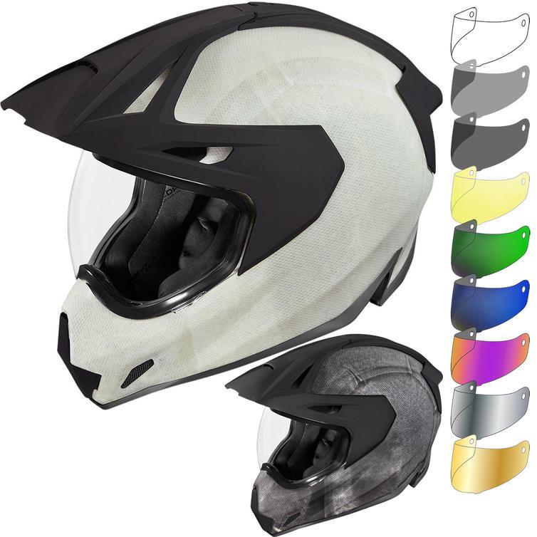 Icon Variant Pro Construct Dual Sport Helmet & Visor