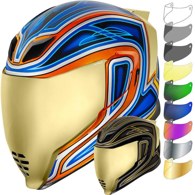 Icon Airflite El Centro Motorcycle Helmet & Visor