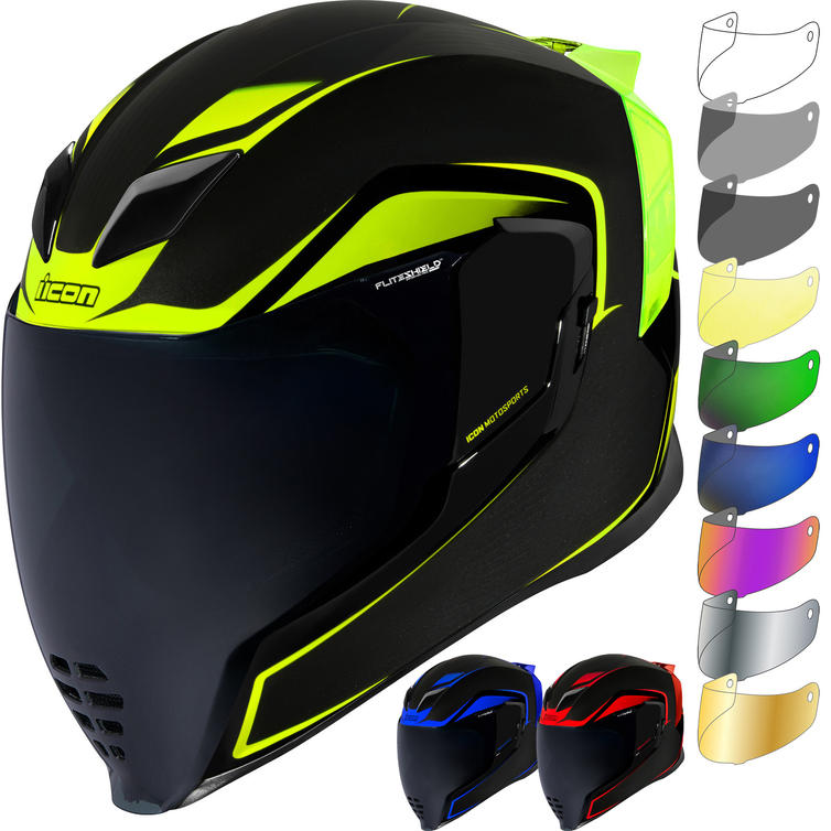 Icon Airflite Crosslink Motorcycle Helmet & Visor