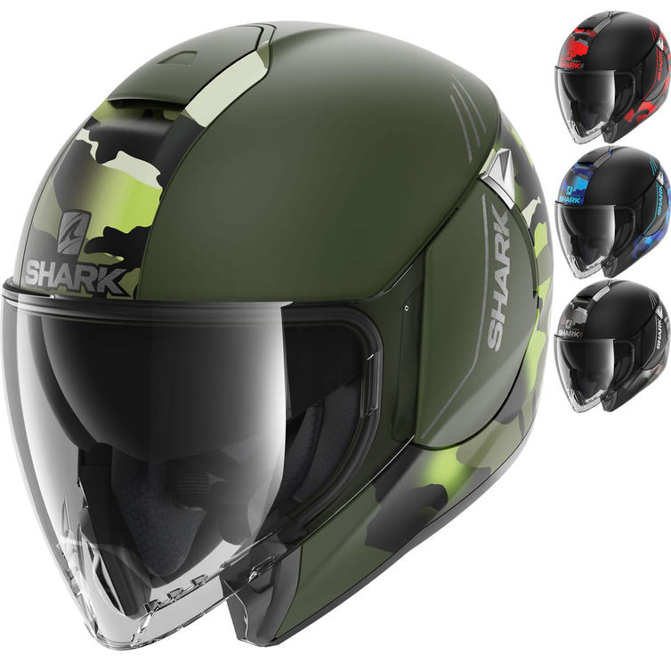 Shark Citycruiser Genom Open Face Motorcycle Helmet