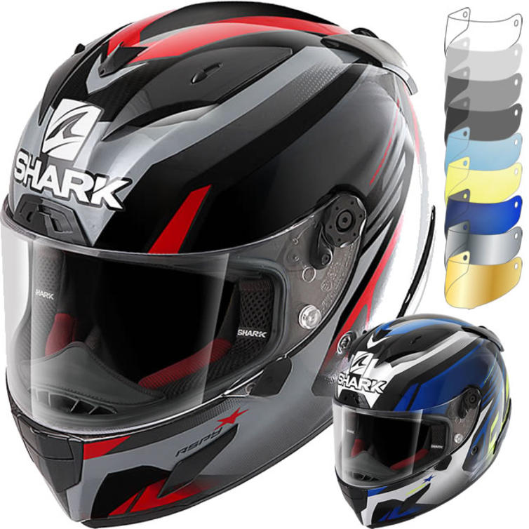 Shark Race-R Pro Aspy Motorcycle Helmet & Visor