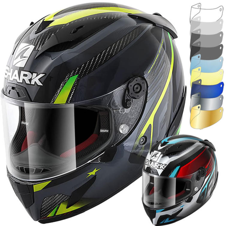 Shark Race-R Pro Carbon Aspy Motorcycle Helmet & Visor