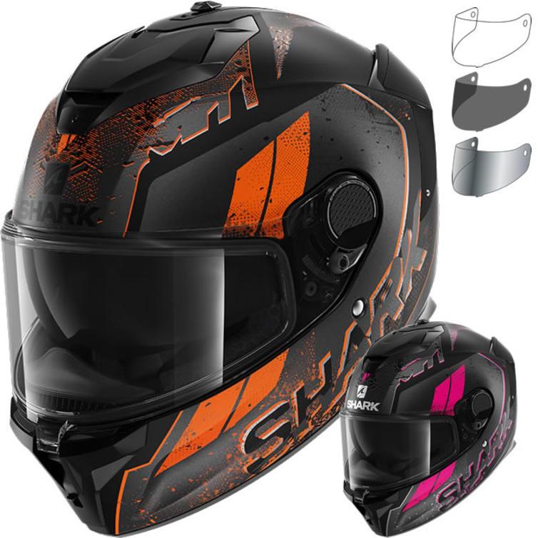 Shark Spartan GT Ryser Motorcycle Helmet & Visor
