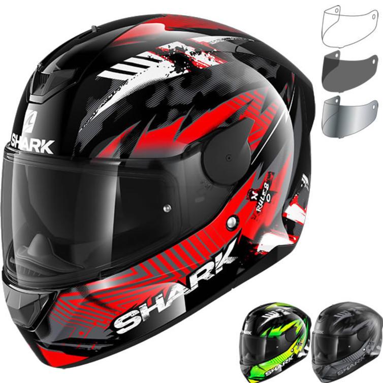Shark D-Skwal 2 Penxa Motorcycle Helmet & Visor