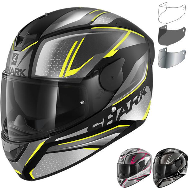 Shark D-Skwal 2 Daven Motorcycle Helmet & Visor