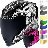 Icon Airflite Pleasuredome Redux Motorcycle Helmet & Visor