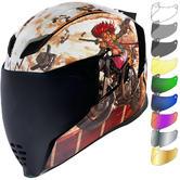 Icon Airflite Pleasuredome3 Motorcycle Helmet & Visor