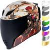 Icon Airflite Pleasuredome3 Motorcycle Helmet & Visor Thumbnail 2