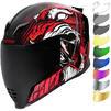 Icon Airflite Trumbull Motorcycle Helmet & Visor Thumbnail 2