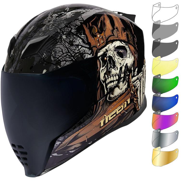 Icon Airflite Uncle Dave Motorcycle Helmet & Visor