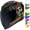 Icon Airflite Uncle Dave Motorcycle Helmet & Visor Thumbnail 2