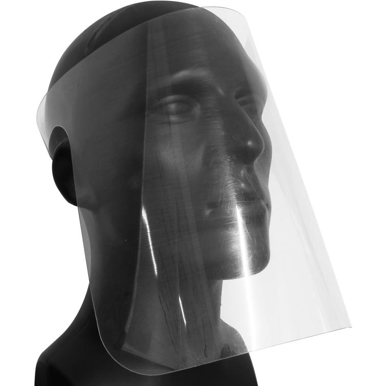 100 x Full Face Protective Face Shields Clear