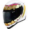 Icon Airform Grillz Motorcycle Helmet & Visor Thumbnail 4