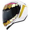 Icon Airform Grillz Motorcycle Helmet & Visor Thumbnail 5