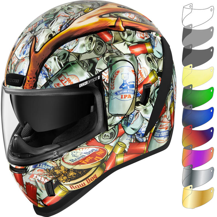 Icon Airform Buck Fever Motorcycle Helmet & Visor