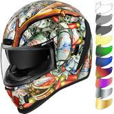 Icon Airform Buck Fever Motorcycle Helmet & Visor