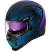 Icon Airform Chantilly Opal Motorcycle Helmet & Visor Thumbnail 5
