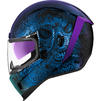 Icon Airform Chantilly Opal Motorcycle Helmet & Visor Thumbnail 7