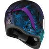 Icon Airform Chantilly Opal Motorcycle Helmet & Visor Thumbnail 9