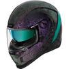 Icon Airform Chantilly Opal Motorcycle Helmet & Visor Thumbnail 4
