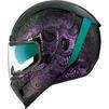 Icon Airform Chantilly Opal Motorcycle Helmet & Visor Thumbnail 6