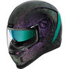 Icon Airform Chantilly Opal Motorcycle Helmet & Visor