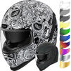 Icon Airform Chantilly Motorcycle Helmet & Visor Thumbnail 1
