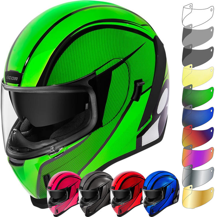 Icon Airform Conflux Motorcycle Helmet & Visor