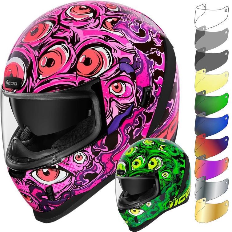 Icon Airform Illuminatus Motorcycle Helmet & Visor