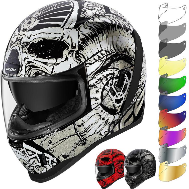 Icon Airform Sacrosanct Motorcycle Helmet & Visor