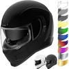 Icon Airform Motorcycle Helmet & Visor Thumbnail 2