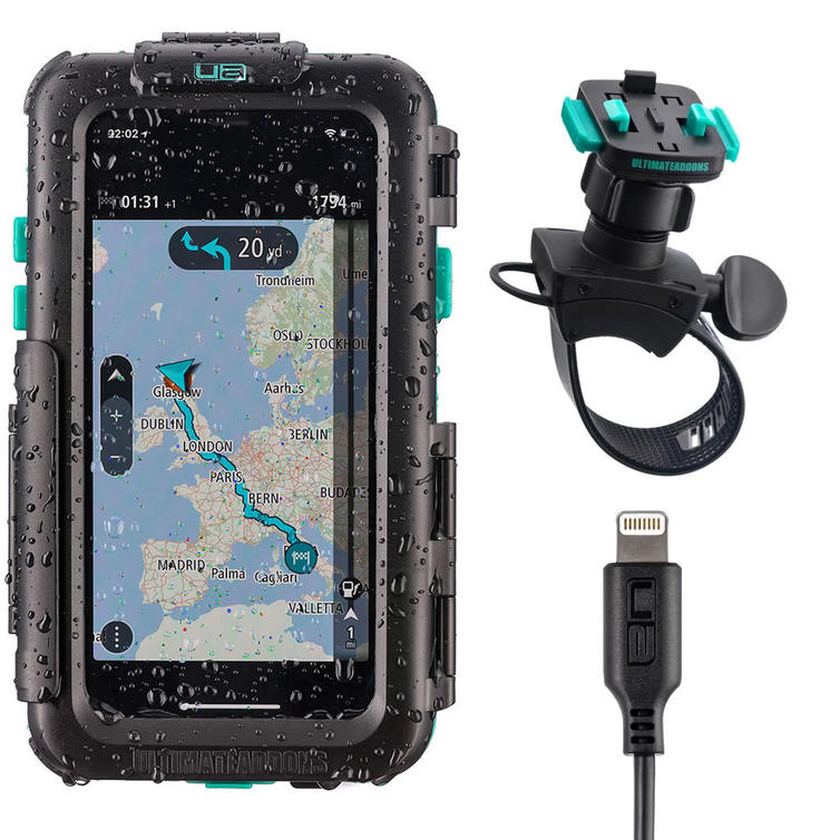 Ultimateaddons One Box Waterproof Tough Case and Mount Kit for Apple iPhone X-XS