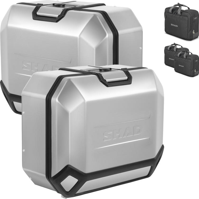 Shad TR36 Terra 4P Aluminium Side Cases 36L (Pair)