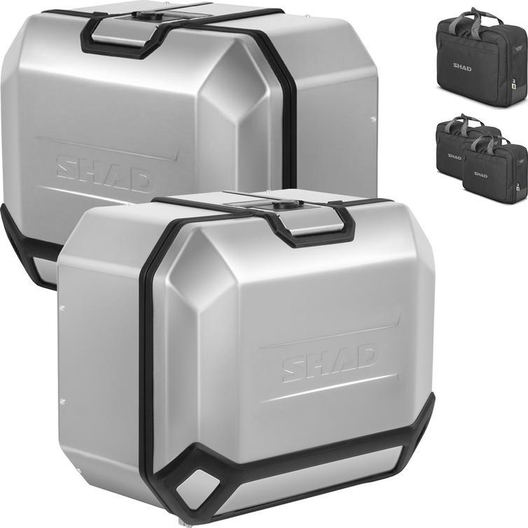 Shad TR47 Terra 4P Aluminium Side Cases 47L (Pair)