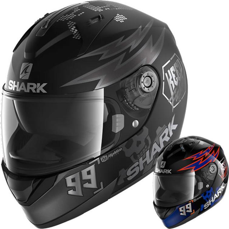 Shark Ridill Catalan Bad Boy Motorcycle Helmet