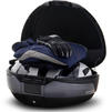 Shad SH48 Top Case 48L Dark Grey with Backrest and Carbon Cover Thumbnail 4