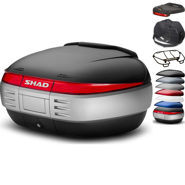 Shad SH50 Top Case 50L with Backrest