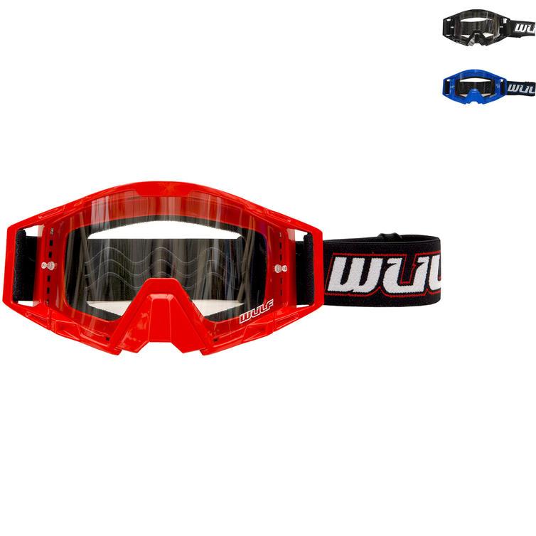 Wulf Tech Motocross Goggles